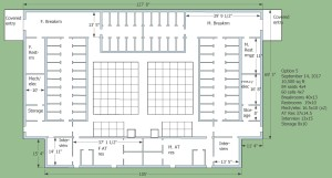 Expansion of the Dhamma Hall in a future phase that will have a full complement cells. When built out there will be a total of 100 mediation cells.